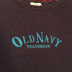 Old navy navy long sleeve tee